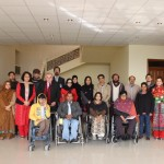 ACCESSIBILITY AUDIT TEAM VISITED PAKISTAN INSTITUTE OF REHABILITATION SCIENCES