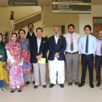 Dr. Imam Yar Baig(Country Representative Pakistan) visit to PIRS on 12th March,2015 with CEO CHEF International Sohail Ayaz Khan.