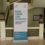 Workshop on Baisc Lower Limb Orthotics